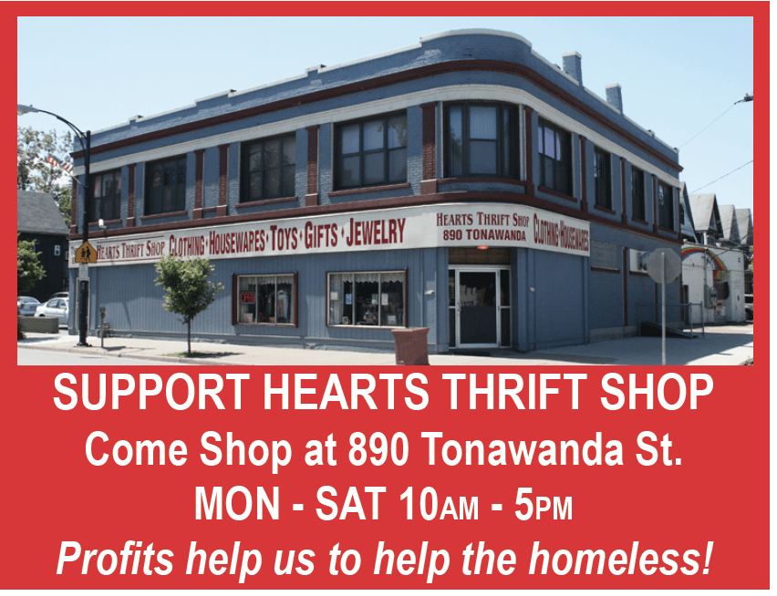 Support Hearts Thrift Shop