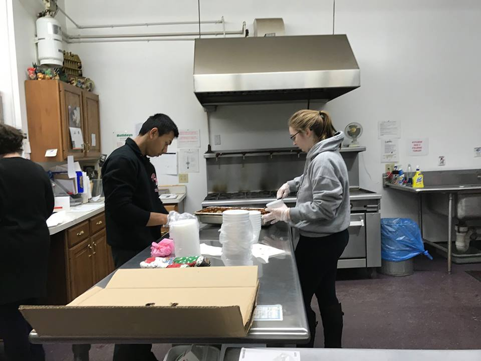 Pan and Kassy volunteer at Hearts for the Homeless