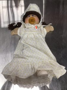 Hearts for the Homeless vintage cabbage patch doll