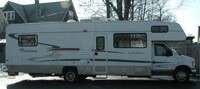 Hearts for the Homeless third motorhome purchased in 2006