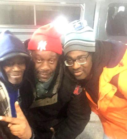 Three clients from Buffalo