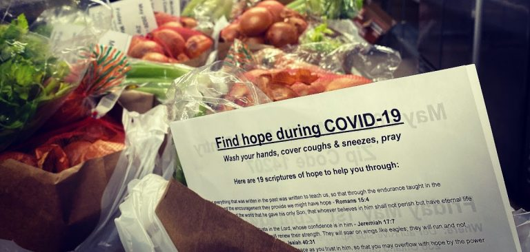 finding hope during COVID-19