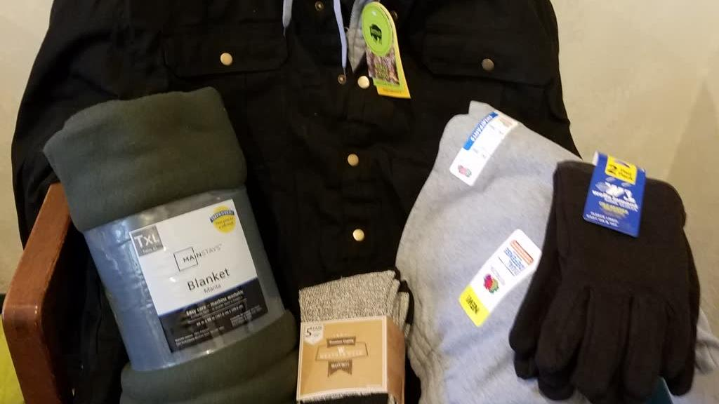brand new outerwear for winter donations