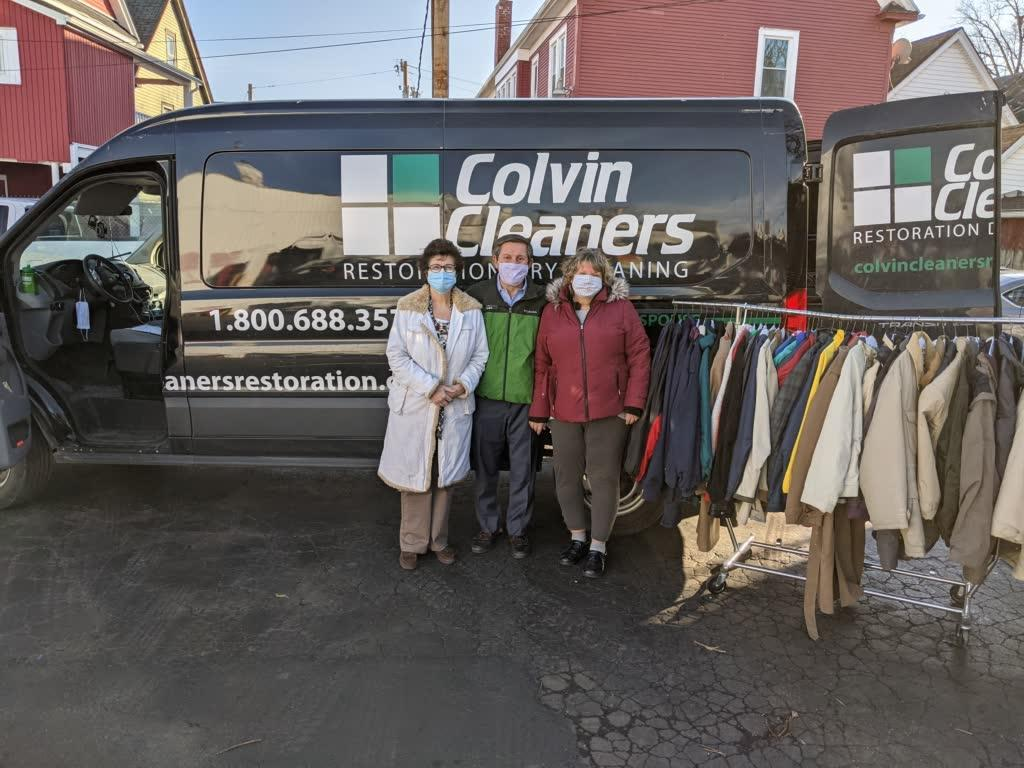 Colvin cleaners coats