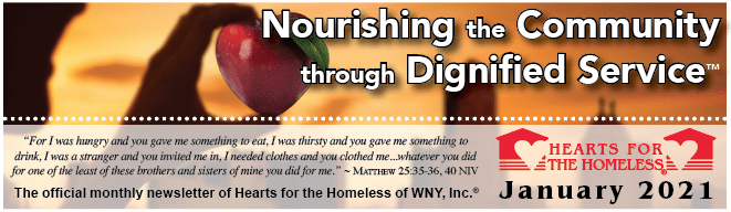 Nourishing the Community through Dignified Service - January 2021 - Hearts for the Homeless
