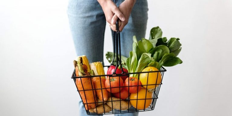 Stock image of food with a high nutritional value
